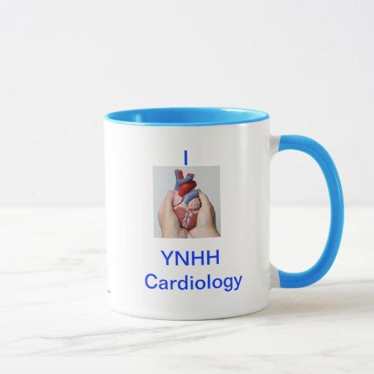 YNHH Cardiology Mug