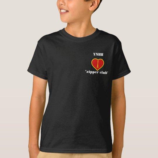 YNHH Zipper Club T-Shirt