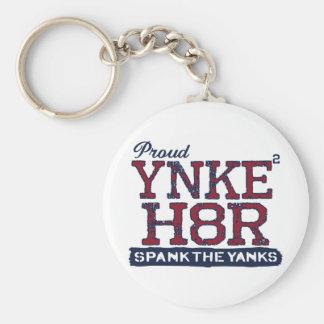 YNKEE H8R Anti-Yankee Basic Round Button Keychain