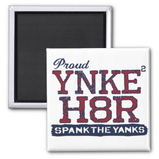 YNKEE H8R Anti-Yankee 2 Inch Square Magnet