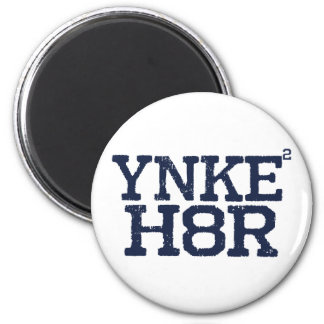 YNKEE H8R Anti-Yankee Refrigerator Magnets