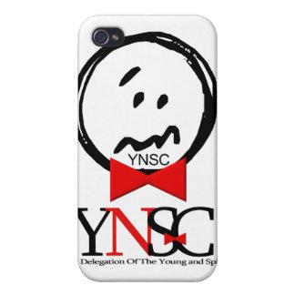 YNSC - iPhone social del paria iPhone 4 Carcasa