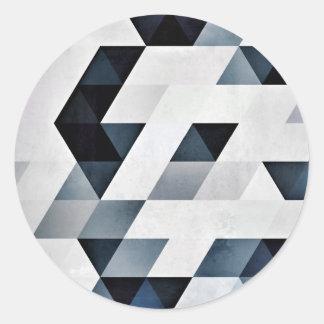 yntygryl classic round sticker