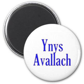 Ynys bill guaranty-laugh Avalon 2 Inch Round Magnet