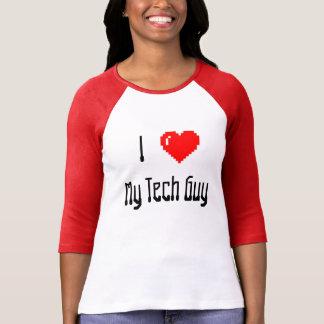 """""""Yo <3 camiseta de mi individuo de la tecnología"""""""