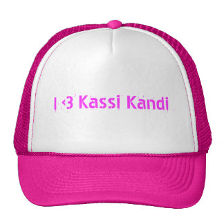 """Yo <3 gorra del camionero de Kassi Kandi"""