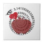 ¡Yo amantes de la matemáticas de la empanada de Ap Tejas Cerámicas