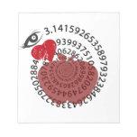 ¡Yo amantes de la matemáticas de la empanada de Ap Blocs De Papel