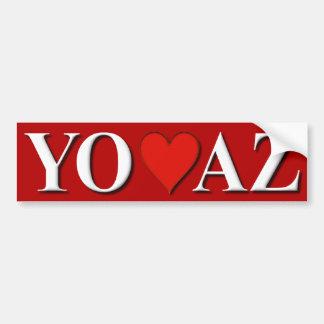 Yo Amo AZ Bumper Sticker