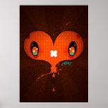 """Yo Amo La Leche """"Heart"""" posters"""