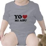 Yo Amo Mi Abu Rompers