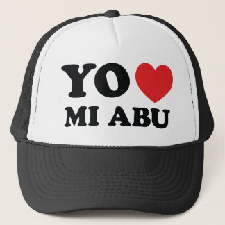 Yo Amo Mi Abu Trucker Hat