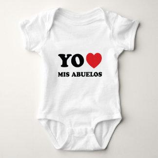 Yo Amo Mis Abuelos Baby Bodysuit