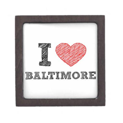 Yo-Amor-Baltimore Caja De Regalo De Calidad