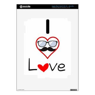 Yo amor de padre iPad 3 pegatinas skins