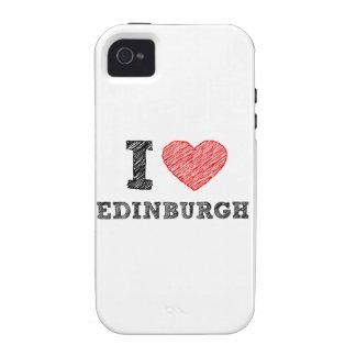 Yo-amor-Edimburgo iPhone 4/4S Funda