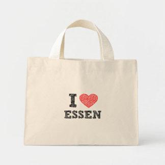 Yo-amor-Essen Bolsa Tela Pequeña