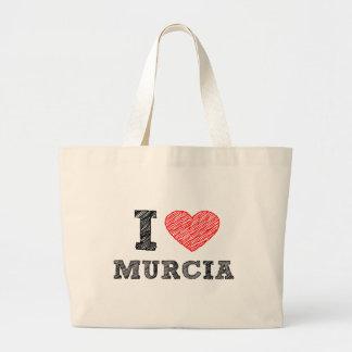 Yo-amor-Murcia Bolsa Tela Grande