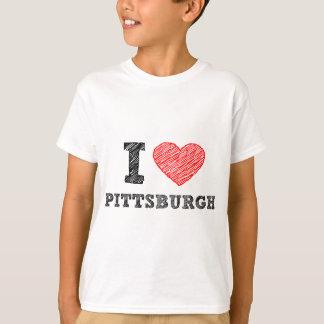 Yo-Amor-Pittsburgh Playera