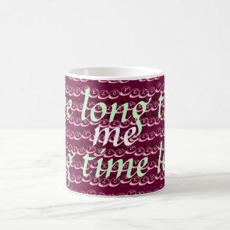 Yo amor usted taza del tiempo largo - regalo del e
