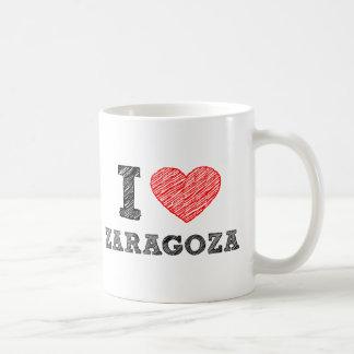 Yo-amor-Zaragoza Taza Clásica