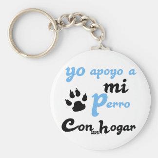 Yo apoyo a mi Perro Key Chain