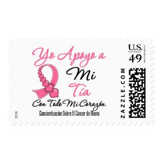 Yo Apoyo a Mi  Tía - Cáncer de Mama Stamp