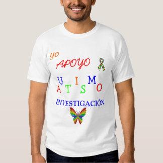 yo apoyo autismo investigación ! shirt