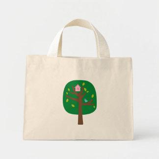 Yo árbol de amor 1 bolsa tela pequeña