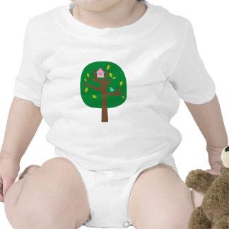 Yo árbol de amor 1 traje de bebé