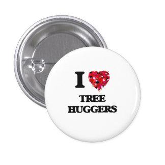 Yo árbol de amor Huggers Pin Redondo 2,5 Cm