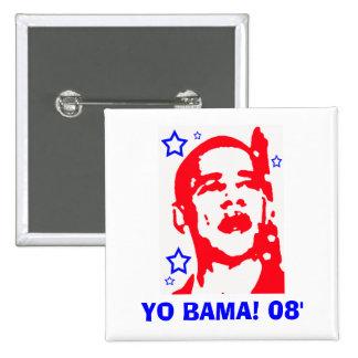 Yo Bama! 08' Star Button