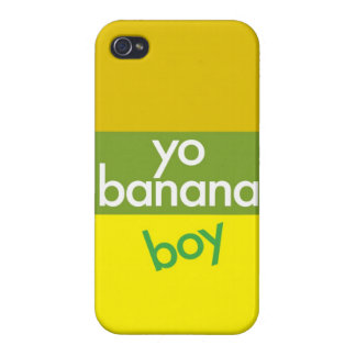 """Yo, Banana Boy"" Covers For iPhone 4"
