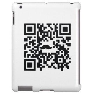 """""""Yo bigote usted caso del iPad del código de QR de"""