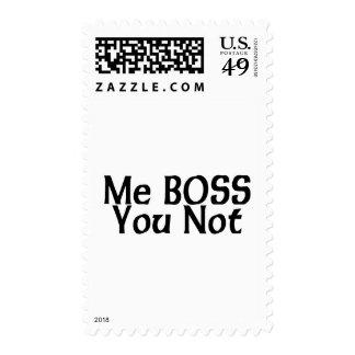 Yo Boss usted no Sellos
