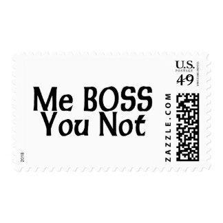 Yo Boss usted no Sello