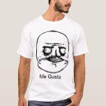 Yo camiseta de Gusta