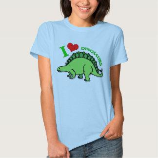 """""""Yo camiseta de las señoras de los dinosaurios del Playeras"""