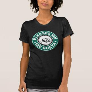 Yo camiseta destruida Gusta Playera