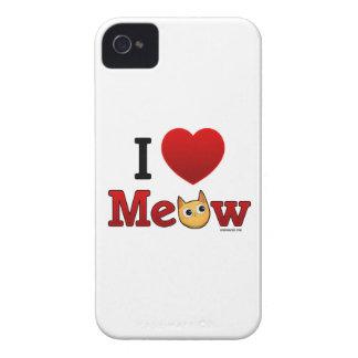 Yo caso del iPhone del gato de los gatos del cora Case-Mate iPhone 4 Coberturas