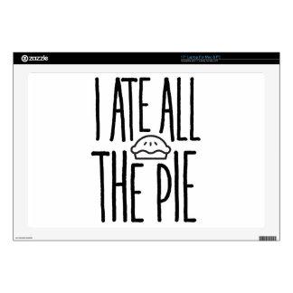 Yo comí toda la empanada portátil calcomanía