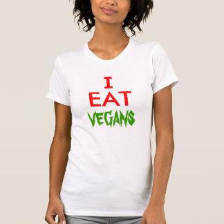 ¡Yo como a veganos! Polera