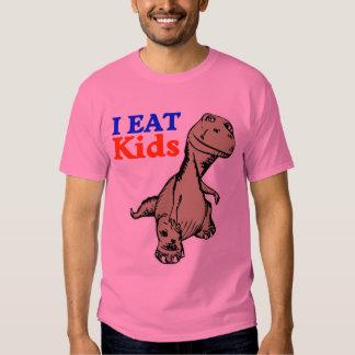 """""""Yo como camiseta linda del dinosaurio de los Camisas"""