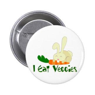 Yo como el botón de los Veggies Pin