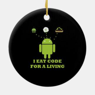 Yo como el código para un analista de programas