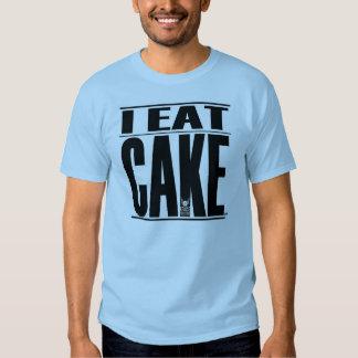 YO COMO la camiseta de la TORTA Remeras