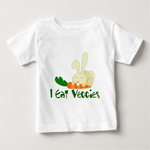 Yo como la camiseta del niño de los Veggies