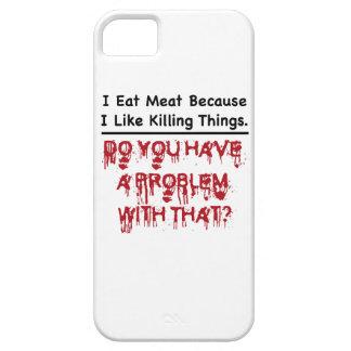 Yo como la carne funda para iPhone SE/5/5s