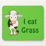 Yo como la hierba alfombrilla de raton