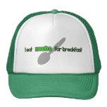 YO COMO N00bs para el gorra del desayuno